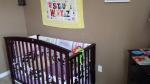Reversed crib.