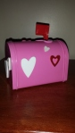 Valentine's Day mailbox from one of GP's friends.